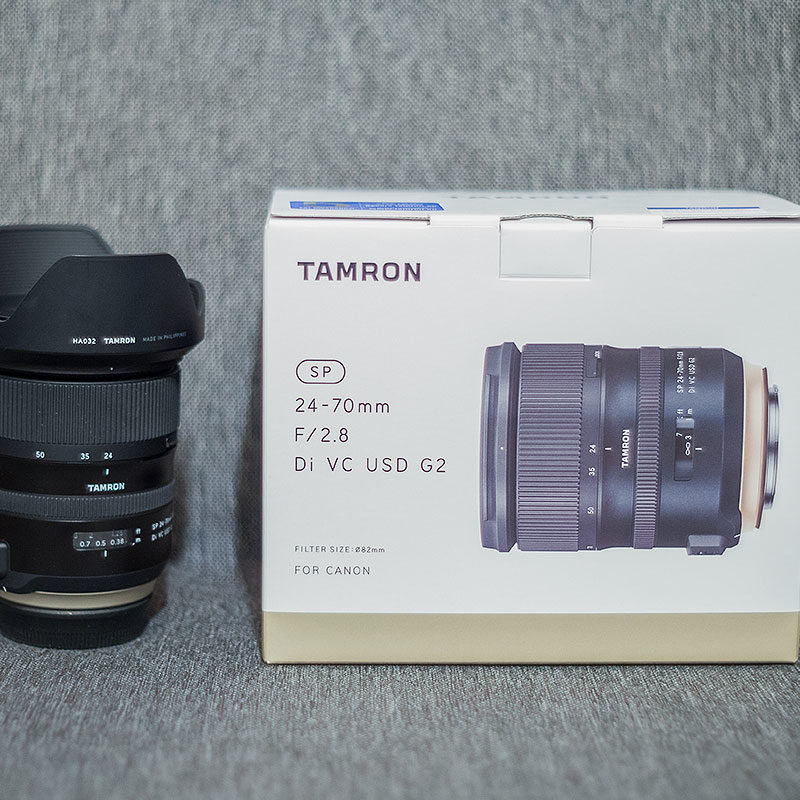 Test Tamrona SP 24-70mm F/2.8 Di VC USD G2